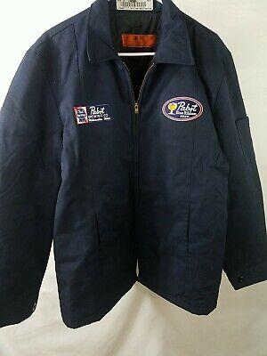 Used Large Pabst Beer Retro Work Jacket (K002)
