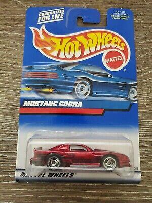Hot Wheels 2000 Ford Mustang Cobra. Rare,HTF!  India Base #121.