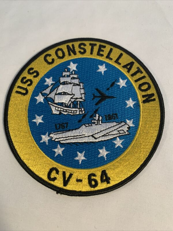 US Navy USS Constellation CV-64 Command Patch
