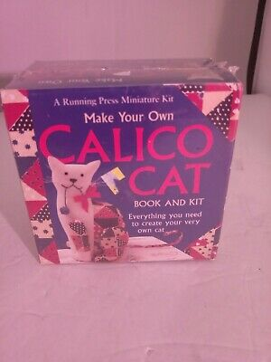 Make Your Own Calico Cat Book and Craft Kit - Make Your Own Cat