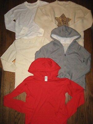 Lot girls 14 tops shirts sweater hoodie zip up sweatshirt jacket Kidpik for sale  Shipping to India