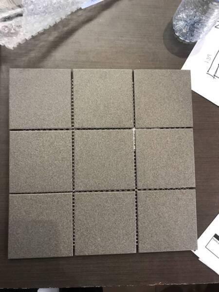 33m2 Charcoal Floor Tile 97x97 300x300 Sheet Building Materials