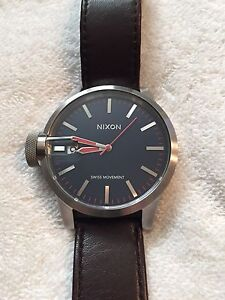 ** NIXON MAGNIFIED THE CHRONICLE WATCH **
