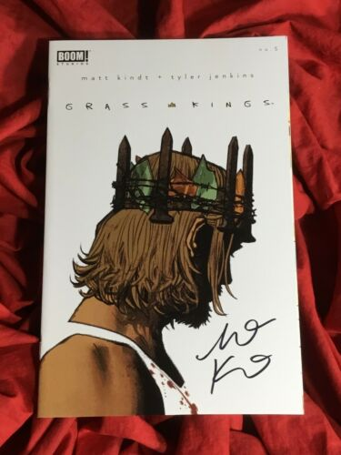 GRASS KINGS #5~VARIANT~HAND-SIGNED BY MATT KINDT~NEW TV SHOW COMING~BOOM!