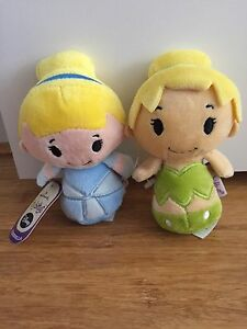 Disney itty bittys Cinderella and tinkerbell Applecross Melville Area Preview