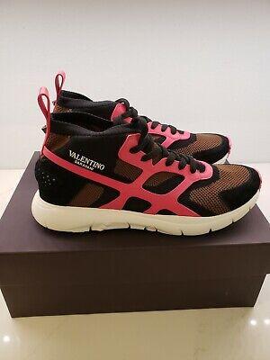 Valentino Garavani Men's Rockstud Sneakers size 44 US 11