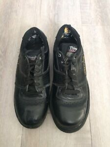 Used ladies (size 7) curling shoes with Goldline gripper - $20
