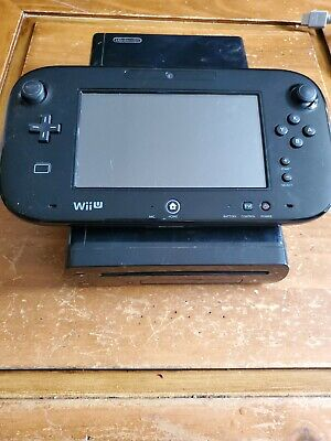 Nintendo Wii U 32GB Console Deluxe Set with Nintendo Land - Black (WUP-101(02))