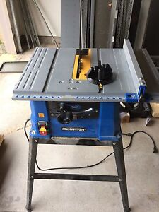 """Master craft table saw 10"""""""