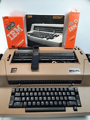 Vintage Ibm Correcting Selectric Iii Electric Typewriter Needs Work