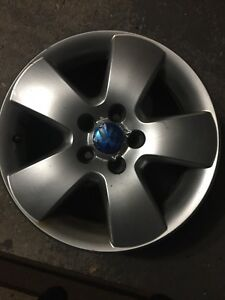 Four 15 inch VW rims