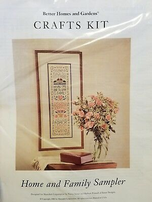 Better Homes And Gardens Cross Stitch (Better Homes And Gardens Crafts Kit Cross Stitch Sampler Home And Family)