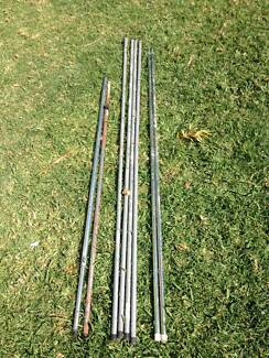 tent poles 6 poles and 2x adgjustable & Extendable Tent Poles | Camping u0026 Hiking | Gumtree Australia Coffs ...