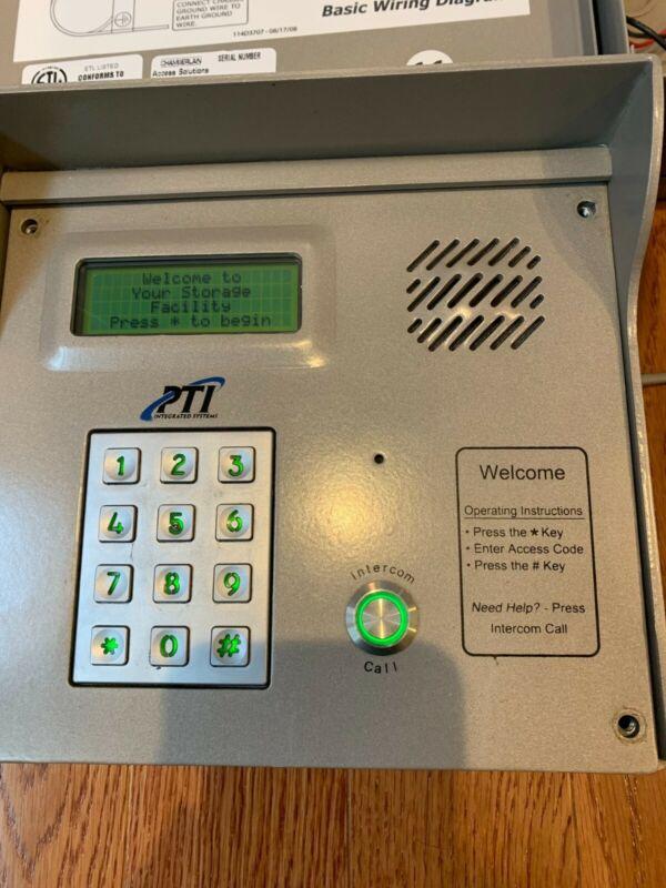 PTI Apex Keypad w/Intercom