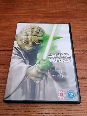Star Wars - Prequel Trilogy ( 3 DVD Box Set ) Very Good Condition