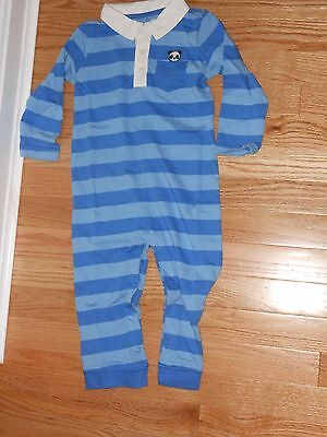 """NWT - Gymboree """"Happy Panda"""" long sleeved striped collared pants outfit - 12-18m"""