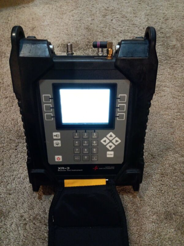 Applied Instruments  XR-3 Modular Test Instrument with TS 2 module.Wi-Fi option