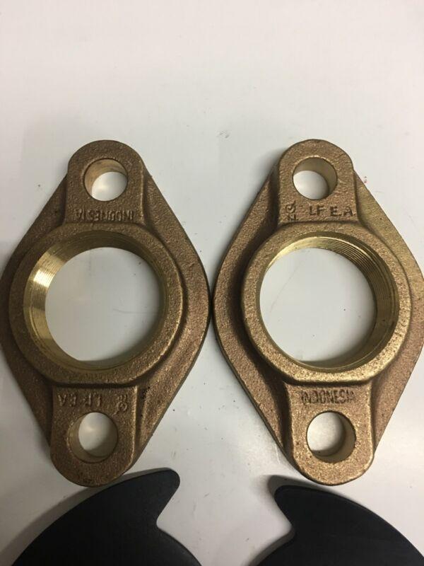"2"" Lead-free Brass Meter Flange Kit"