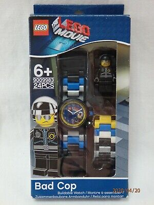 LEGO #9009983 Lego Movie Bad Cop Buildable Watch with Mini Figure NIP