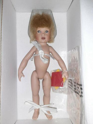 "Kish Riley line boy DJ fireman strung doll w box  7.5"" No clothes etc"