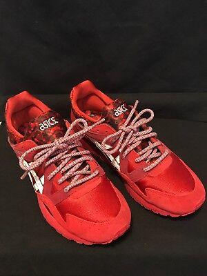 ASICS GEL LYTE V RED WHITE ROMANCE PACK Shoes Men's Size 9  ( H504K-2301 )