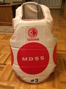 WTF Taekwondo Youth Chest Protector for sparring TKD