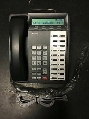 Toshiba Charcoal Gray Dkt3020c-sd Phone Renewed Warranty Refurbished