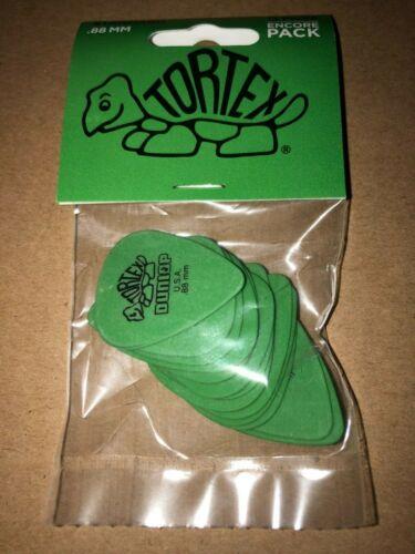 Pack of 13 Dunlop 418E.88 Tortex Standard 0.88mm Green Guitar Pick (2021)