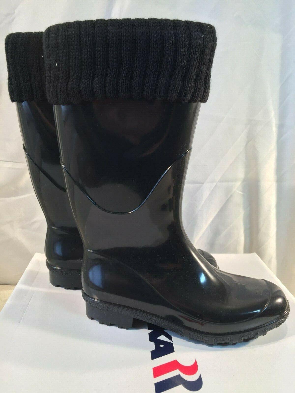Romika ADELAIDE 04 Ladies Winter House Warm Comfort Wide Fit Mule Slippers Black