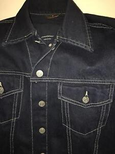 Ladies dark blue denim jacket. Lady land. Size L. Hornsby Hornsby Area Preview