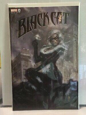 BLACK CAT #1 LUCIO PARRILLO EXCLUSIVE TRADE DRESS VARIANT NM LIMITED TO 1,000](Black Cat Dress)