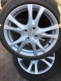 01 Wheel 16 inch and 195/45R16 tyre for Mazda 2