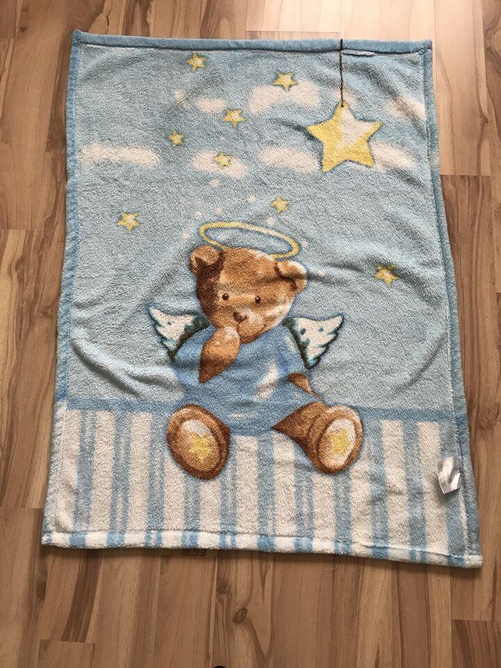Kuscheldecke Krabbeldecke Babydecke Bär Engel Decke in Dortmund - Schüren