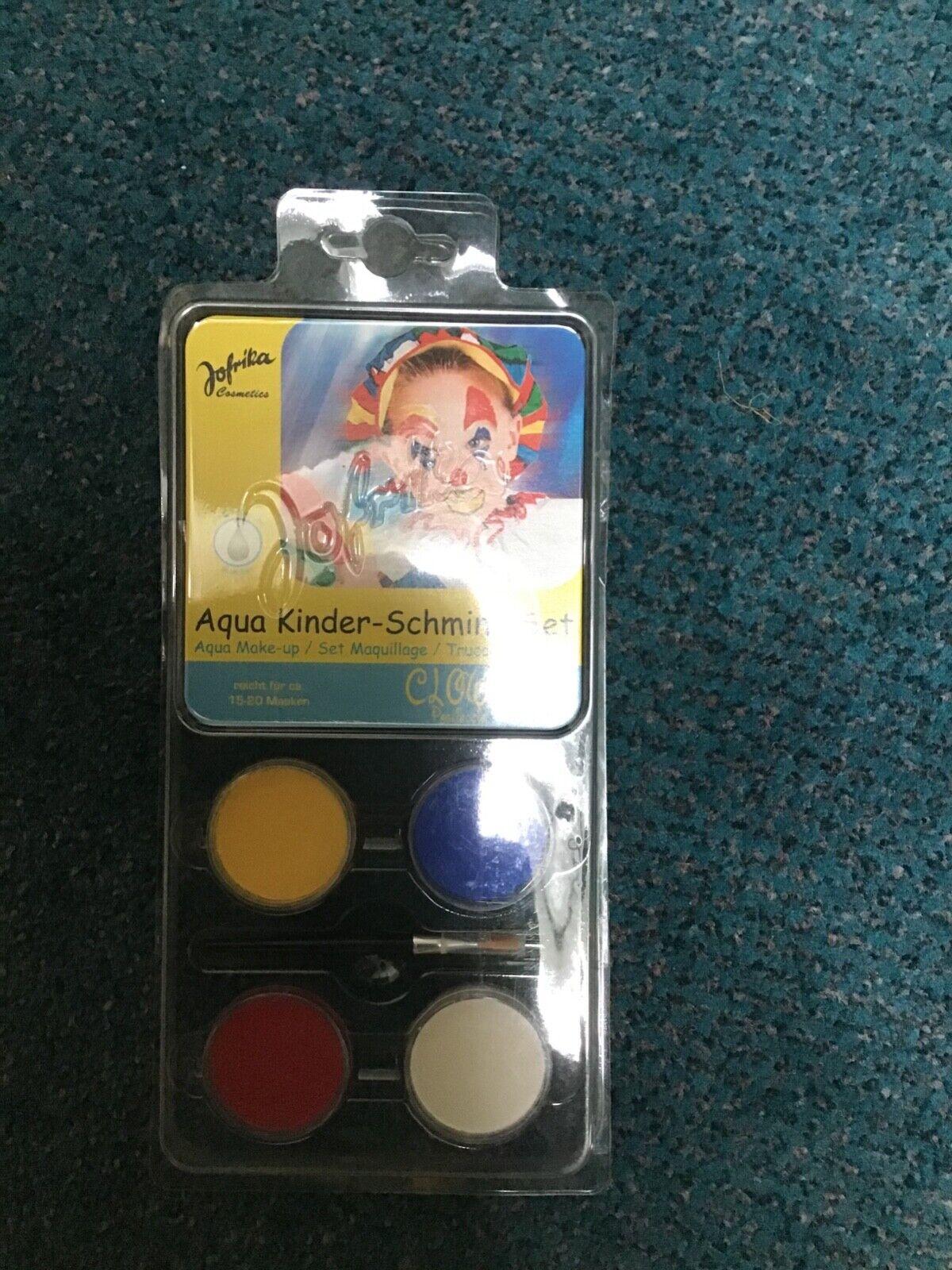 Aqua Schminke Kinderschminke Wasserbasis Neu