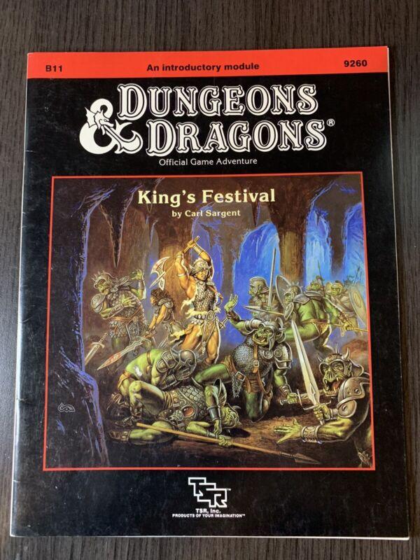 Dungeons & Dragons B11 King