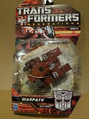 NEW Transformers Generations Deluxe class Warpath MISB