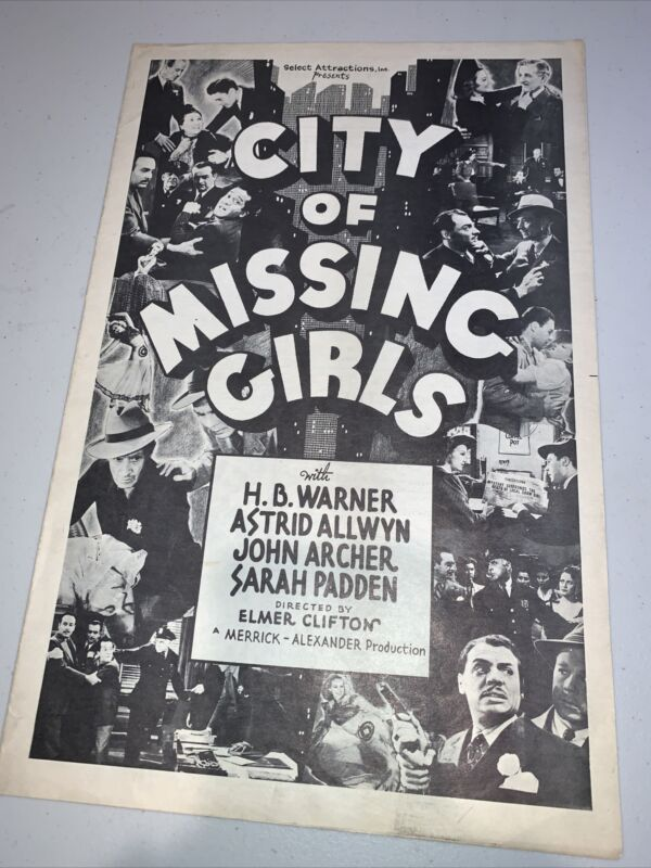 City Of The Missing Girls Movie Press Release Kit