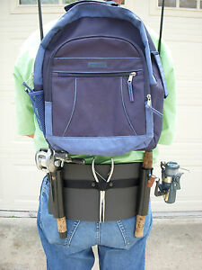 Backpack fishing rod ebay for Fishing backpack with rod holder
