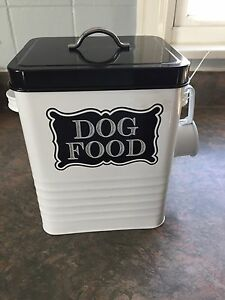 Small Dog Food Storage