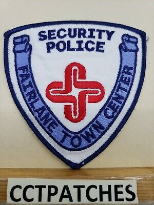 FAIRLANE TOWN CENTER, MICHIGAN SECURITY POLICE SHOULDER PATCH (Fairlane Center)