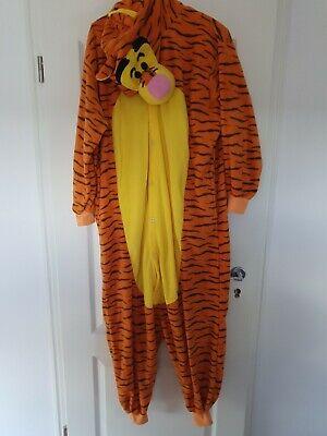Tiger Plüschkostüm Fasching Halloween Karneval XL