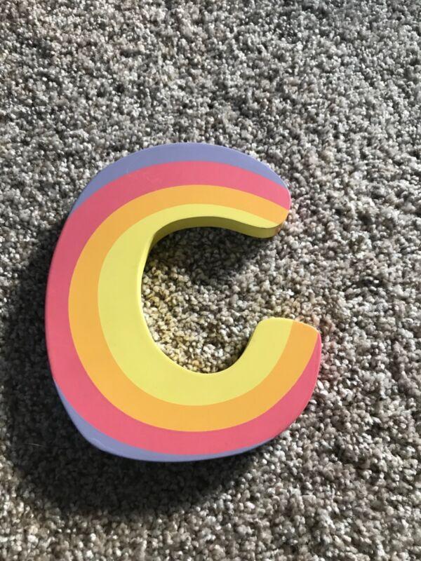 """Tatutina Wooden Letter """"C"""""""