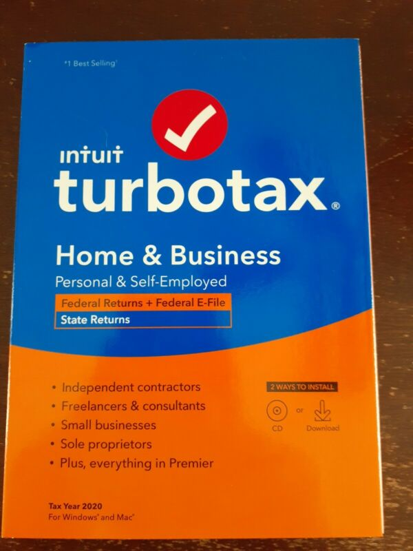Turbotax 2020 Home & Business