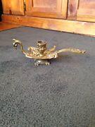Antique Brass bird shape candle holder Launceston Launceston Area Preview