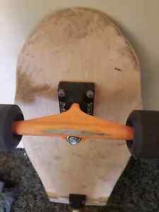 Z-Flex plain timber skate board cruiser 80s style Bar Beach Newcastle Area Preview