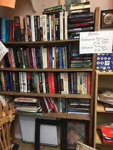 Books in KeepSakes Room at Carson's Market