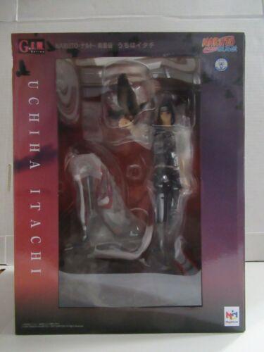 Authentic Megahouse G.E.M. Naruto Shippuden Itachi Uchiha 1:8 PVC U.S Seller