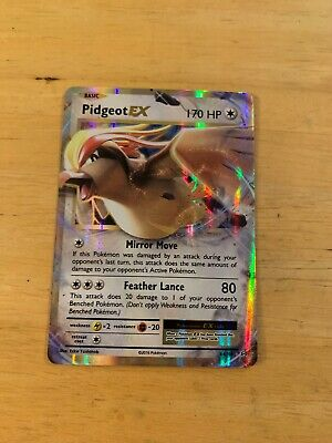 pokemon pidgeot ex Mint Card 64/108 Xy Evolutions Gx English Holo Rare