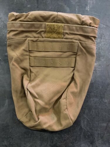 USGI MOLLE Roll - Up Dump Pouch, 10 Mag w/ Cord Lock  Coyote Brown