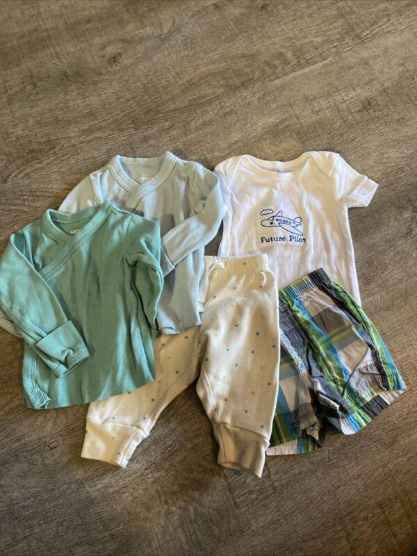 Baby Boy Gap & Carters 5pc Lot, Size 3m, Soo Adorable!